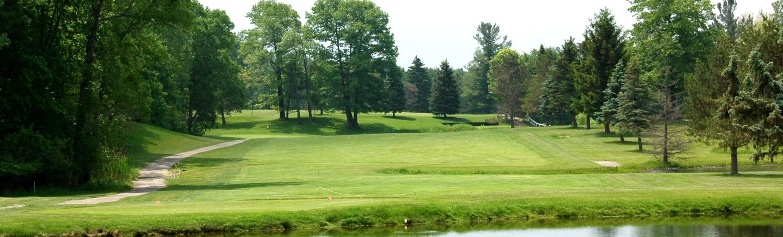 Bruce Hills Golf Course Located South of Almont Michigan