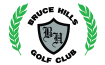 Bruce Hills Golf Course and Banquets Logo