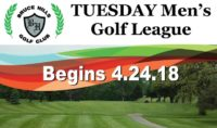 Men golf league Tuesday