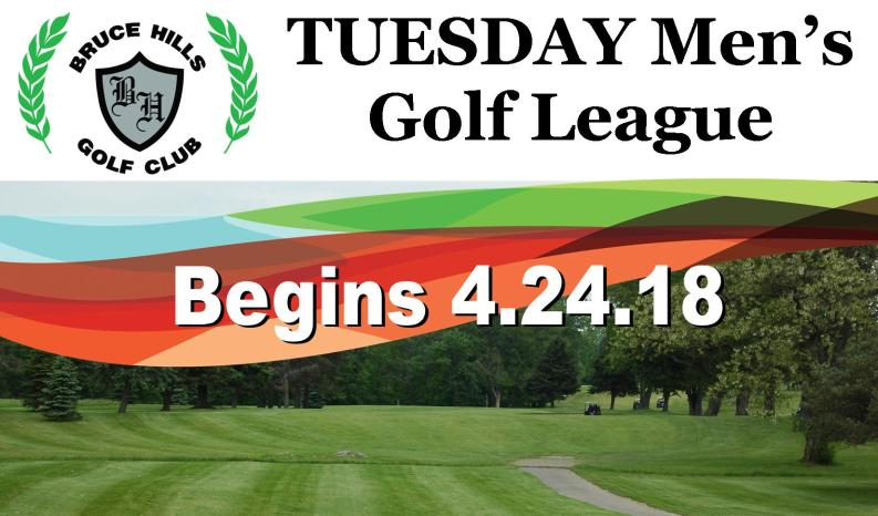 Men golf league Tuesday