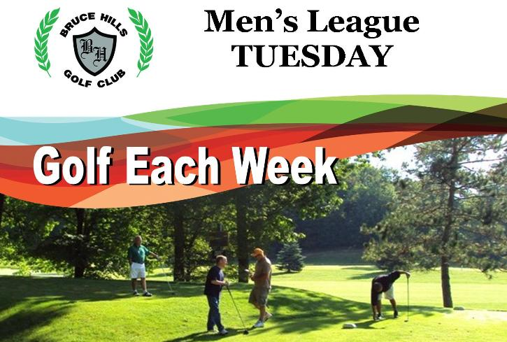 Tuesday Men's Golf League