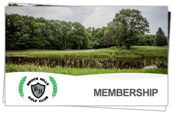 Buce Hills Public Golf Course Membership