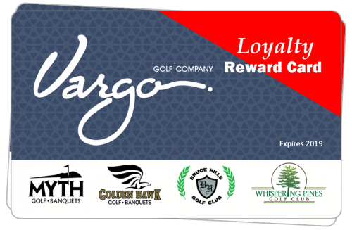 Detroit Michigan Area Golf Course Loyalty Discount Card